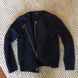 J crew thick knit blazer